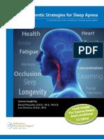 Orthodontic Strategies for Sleep Apnea