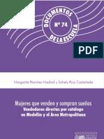 Mujeres que compran y venden sueños. Vendedoras directas por catálogo en Medellín y el Área Metropolitana