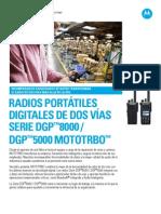 Mot Mototrbo Dgp8000 5000 Specsheet Es 053012