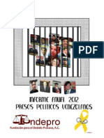 FUNDEPRO informe 2012