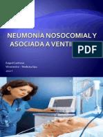 Neumonía nosocomial y asociada a ventilador