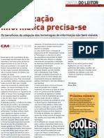PCGuia - «Modernizacao informatica precisa-se» - Amaro Bica