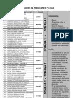 7-2 Comisiones de Aseo 2013