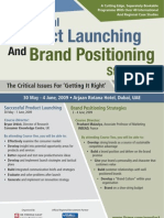 Product Launching and Brand Positioning Strategies