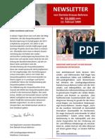 Newsletter 03 2009