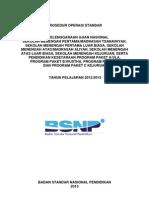 Peraturan Pos Un Smp Sma Smk Dan Unpk Tahun 2013