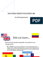 Spanish Pronunciation 101