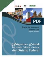 DF Patrimonio Cultural y Natural