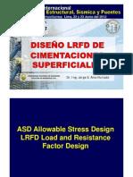 Diseno LRFD Cimentaciones Superficiales ICG