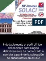 Cirugía no cardíaca en pacientes con Stents medicados