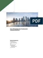 Cisco IOS Configuration Fundamentals Command Reference