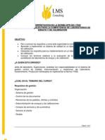 Interpretacion de La Norma 17025[1]