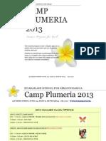Camp Plumeria2013