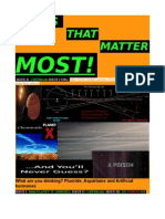 Issues That Matter Most - 2nd Edition - 'CHEMTRAILS'