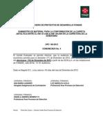3487__2012121405331921 Comunicado No 4 - Audiencia Apertura OPC 148-2012