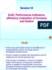 Draft and Efficiency evaluation of  furnace and boilers.ppt