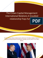 The Crown Capital Management International Relations A troubled relationship frays further