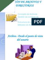 Presentacion Servicios Genericos Para Archivos