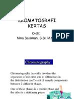 Kuliah Kromatografi Kertas 2011