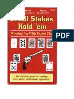 Ed Miller David Sklansky Mason Malmuth - Small Stakes Hold Em