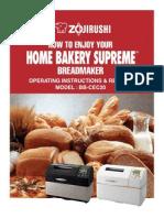 Zigorushi Breadmaker BB-CEC20