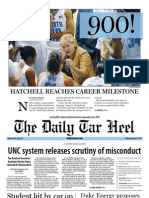 The Daily Tar Heel for February 8, 2013