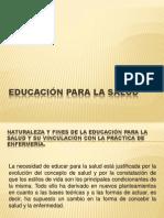 REPASO DE EDUCACIÓN PARA LA SALUD