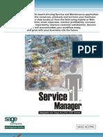 Technisoft Service Manager