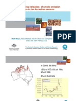 Mick Meyer - Remote sensing validation of smoke emission and dispersion models in the Australian savanna