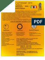 Curso La Fortunae Marzo 2013