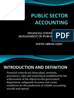Financial Control of Public Funds