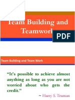 Team Building and Team Work.pptx