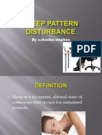 Sleep Pattern Disturbance