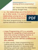 2 Linear Programming