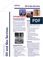 CiS Brochure Oil Gas