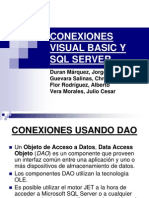 Conexiones Visual Basic y SQL Server