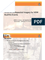 Daniel Howes - Airborne multi-spectral imagery for NSW bushfire events