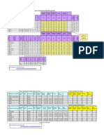 Sample Progress Tracking Sheet for Equipment Erection