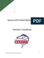 Queenscliff Football Netball Club Handbook 2013