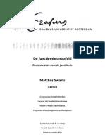 Matthijs Swarts - De Functiemix Ontrafeld