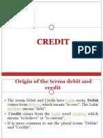 Credit Creation