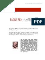 Padre Pio on Prayer