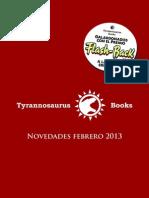 Catalogo Tyrannosaurus 1
