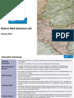 Hetero Med Solutions Ltd. - Company Profile