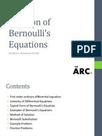 Bernoulli solution