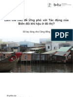 How to Respond to Climate Change Impacts in Urban Areas VN