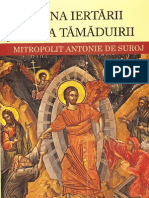 66036441 Mitropolit Antonie de Suroj Taina Iertarii Taina Tamaduirii
