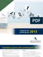 Calendario Contribuyente_2013