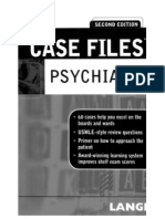 Case Files Psychiatry Second Edition Lange Case Files