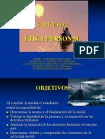 2. DIMENSIÓN PERSONAL DE LA ÉTICA